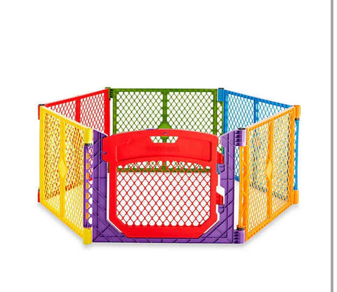 North States Superyard Colorplay, 6 panels