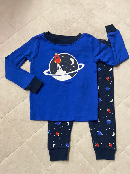Wonder Nation Sleepwear 2pc Set, Size 18M