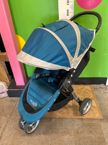 Baby Jogger City Mini Single Stroller, Blue