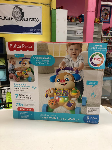 New Fisher Price Learn with Puppy Walker