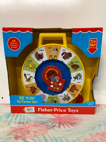 New Fisher Price See 'n Say
