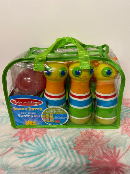New Melissa & Doug Sunny Patch Bowling Set