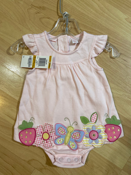New First Impressions Bodysuit Dress, Size 0-3M