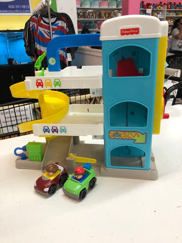 Fisher Price Little People Helpful Neighbor Garage