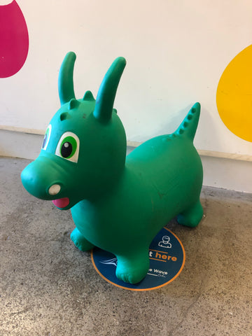 Rody Ride On, green