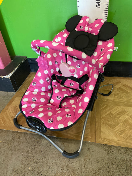 Folding Minnie Mouse Bouncer