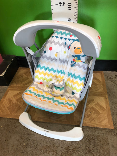 Fisher Price Portable Swing, Chevron