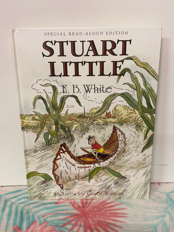 Stuart Little Book by E.B White c1973