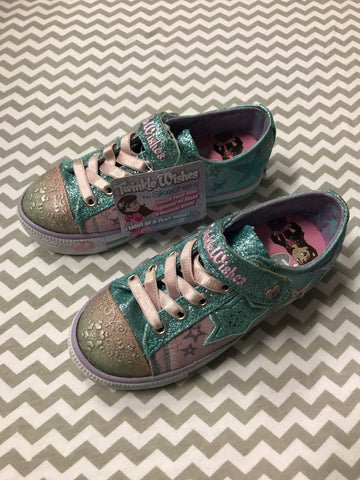 New Skechers Twinkle Toes, Size 10.5