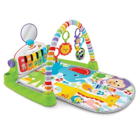 New Fisher Price Deluxe Kick & play Piano Gym