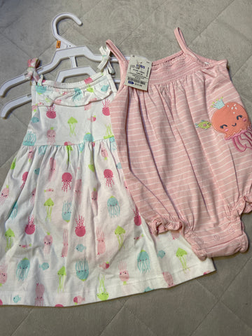 New Carter's 3pc Set, Size 12M
