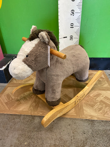 Pottery Barn Rocking Horse