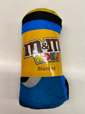 New M&M Fleece Blanket
