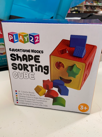 New Play 22 Shape Sorter