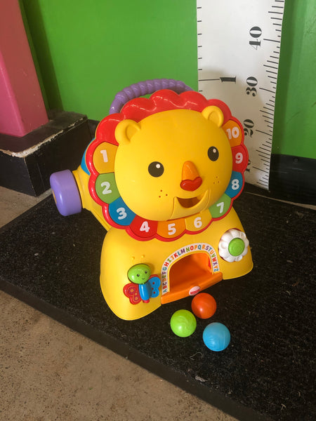 Fisher Price 3-in-1 Sit, Stride & Ride-on Lion