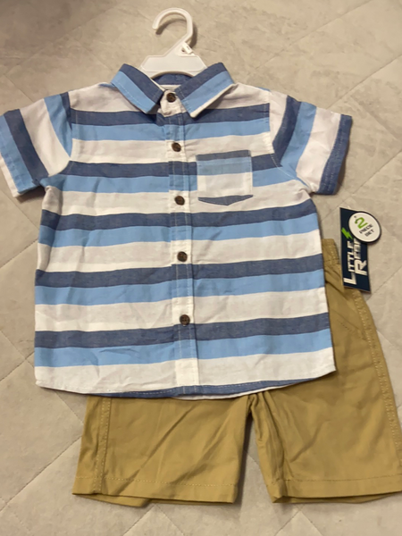New Little Rebels 2pc Set, Size 3T
