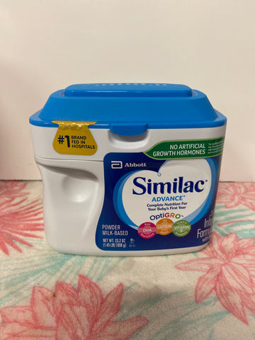 New Similac Advance Formula 23.2oz