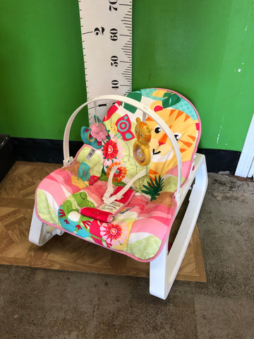 Fisher Price Infant to Toddler Rocker, Pink