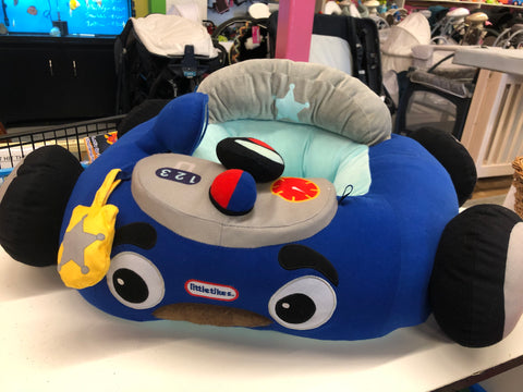 Little Tikes Cozy Coupe Plush Car, Blue