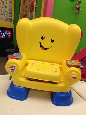 Fisher Price Learning Chair, Yellow