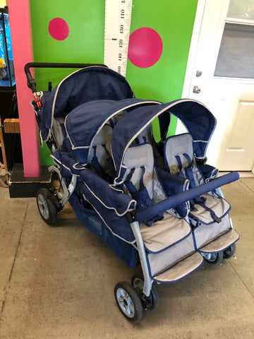 Angeles 6-Passenger Sextuple Stroller