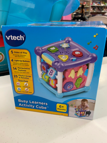 New Vtech Busy Learners Activity Cube