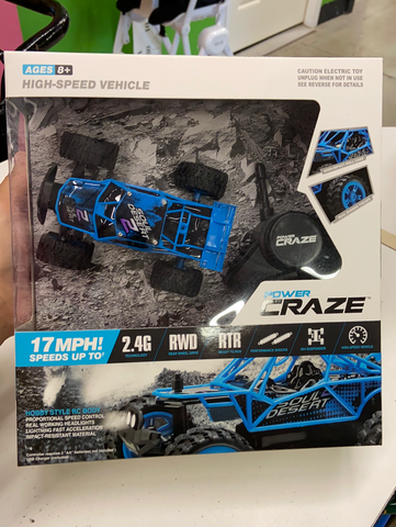 New Power Craze Mini RC Car