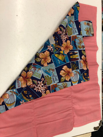 New Tropical Bliss Changing Pad & clutch