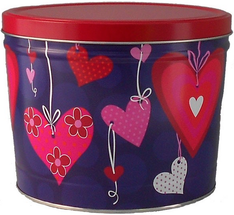 Assorted Heart Tins