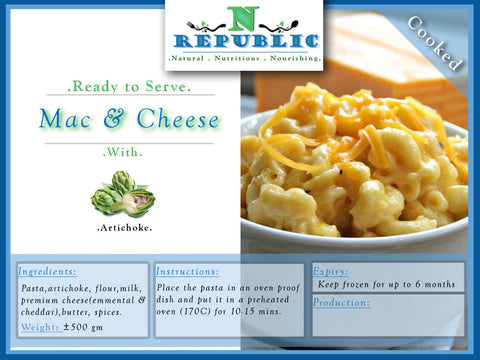 Mac & Cheese (ready to serve)