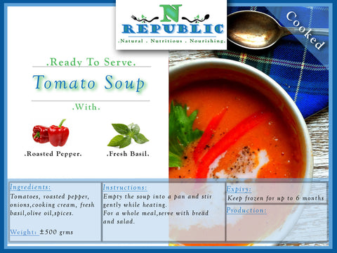 Tomato Soup (ready to serve)