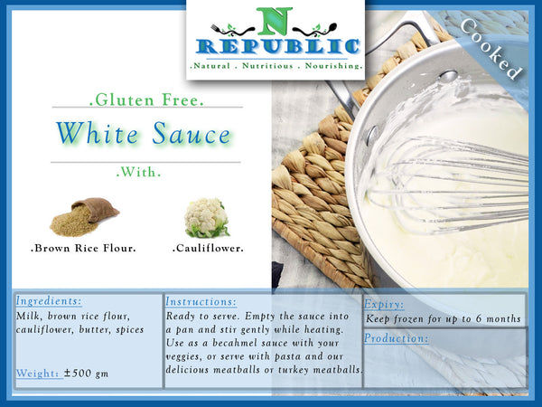 White Sauce (ready to serve)