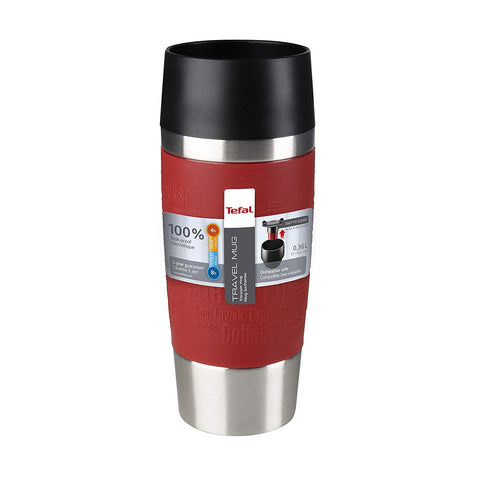 Tefal Travel Mug, Stainless Steel
