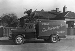 Hemingway and Sons delivery truck, Melbourne, Australia