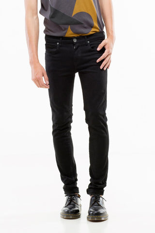 Dr. Denim Snap Jeans <br> Black
