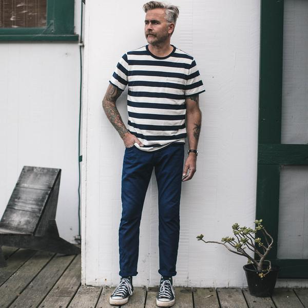 Taylor Stitch - The Slim Jean <br> Double Indigo Standard