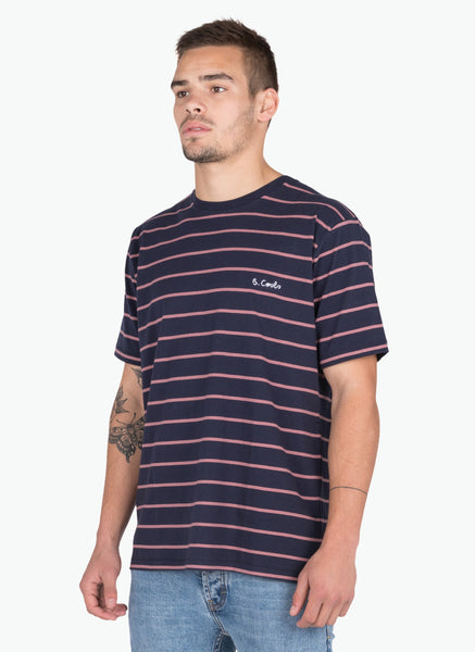 Barney Cools - Embro Tee Navy Stripe