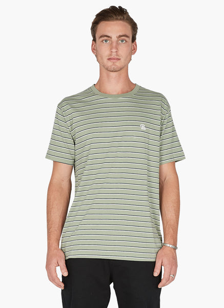 Barney Cools - B.Schooled Tee Seagrass Stripe