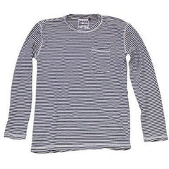 Jungmaven - Yarn Dyed Long Sleeve Pocket Tee -<br>New Blue