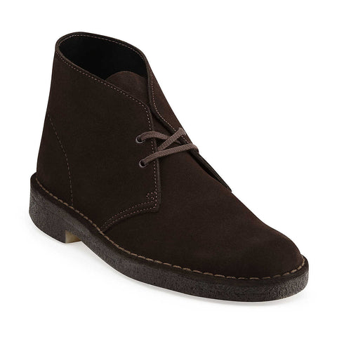 Clarks - Desert Boot <br>Brown Suede