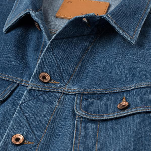 Taylor Stitch - Long Haul Jacket <br>Organic '68 24 Month Wash Denim