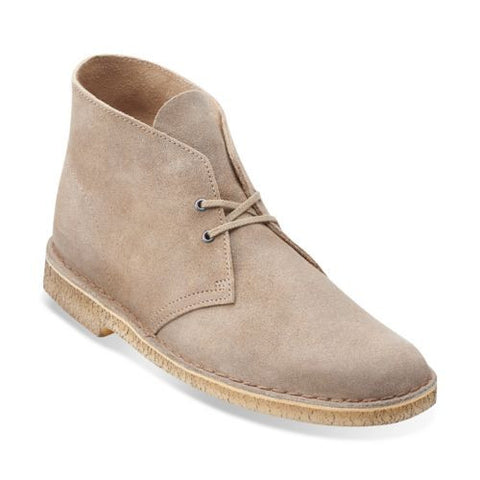Clarks - Original Desert Boots <br>Taupe Suede