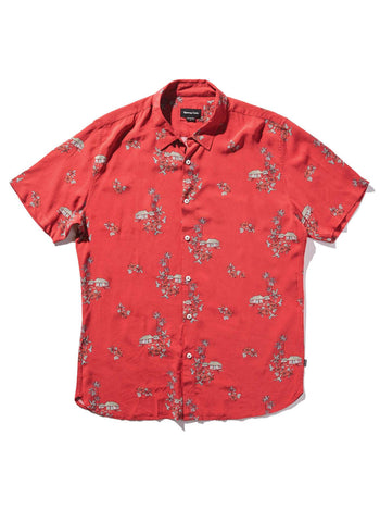 Barney Cools - Holiday Short Sleeve Shirt Red Vacation