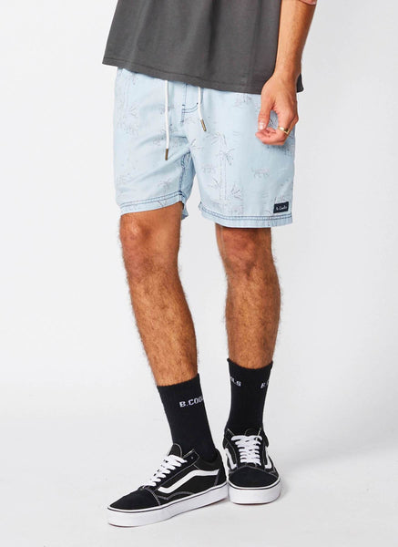 Barney Cools - Poolside 17″ Short Indigo Tiger