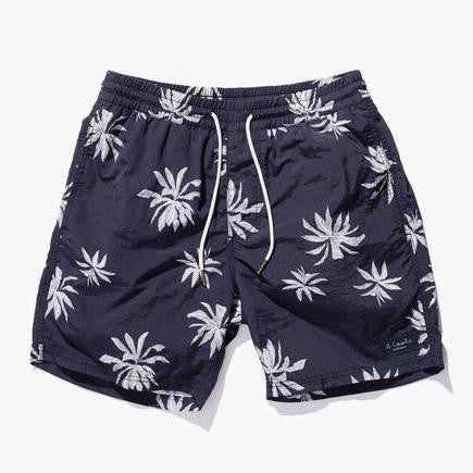 Barney Cools - Amphibious 17″ Fern Shorts Black