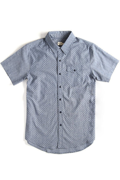 Bridge & Burn - Thomas Chambray Dot SS Shirt