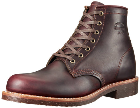 Chippewa - 6 inch General Utility Boots <br>Cordovan Brown