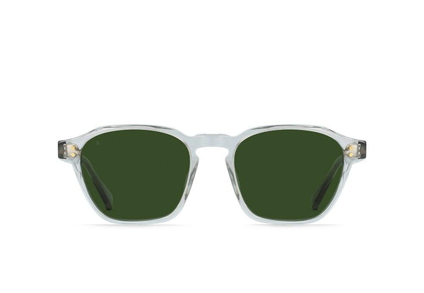 RAEN - Aren Sunglasses - Fog Crystal/Bottle Green
