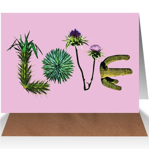 AHD Paper Co. - LOVE (Plants) Greeting Card