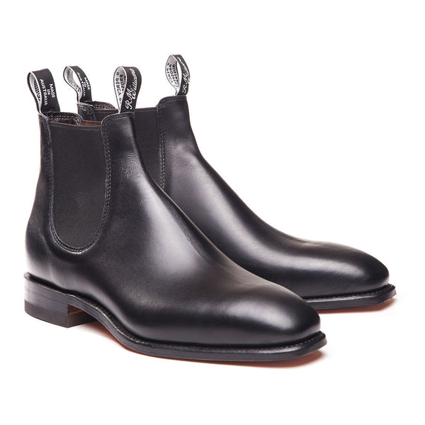 RM Williams - 'The RM' Chelsea Boot Black